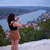 Woman at Mount Bonnell - Austin, Texas