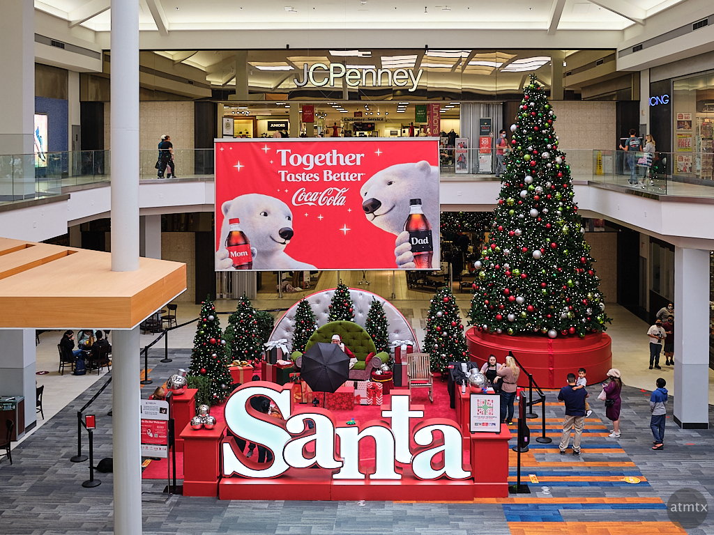 Mall Santa, Barton Creek Square - Austin, Texas