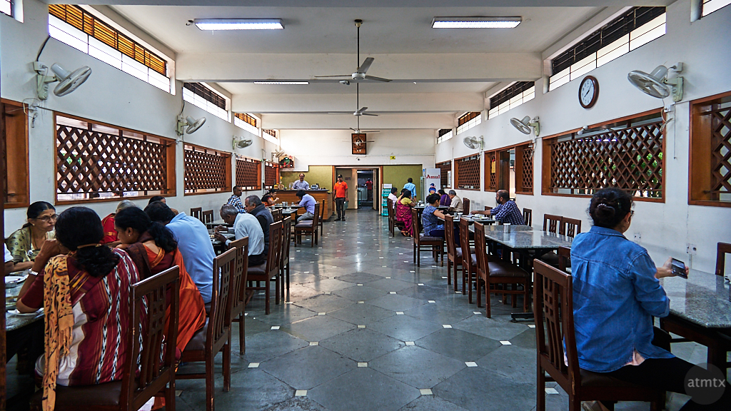 Interior, Indradhanush Restaurant - Road to Mysore, India