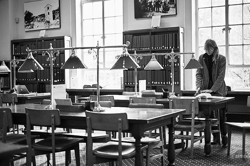 Reading Room, Austin History Center - Austin, Texas