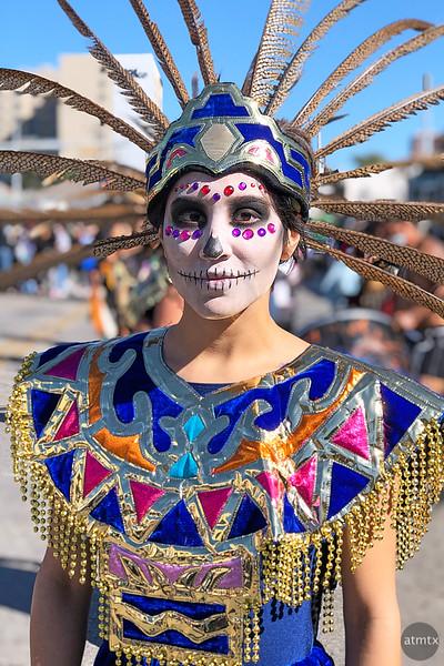 Sara, Dia de los Muertos - Austin, Texas (iPhone, after)