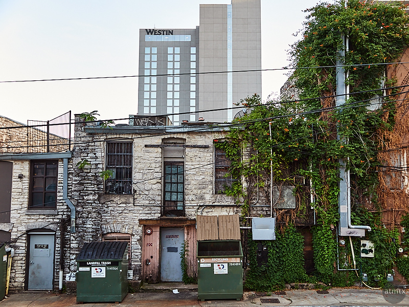 Back of 6th Street - Austin, Texas