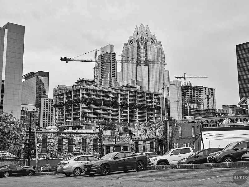 South West View from 7th Street - Austin, Texas