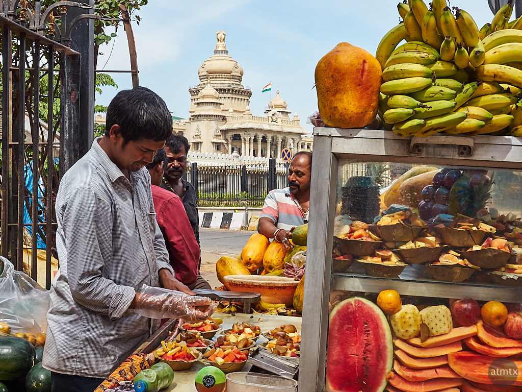 Timeless Fruit Stand - Bangalore, India