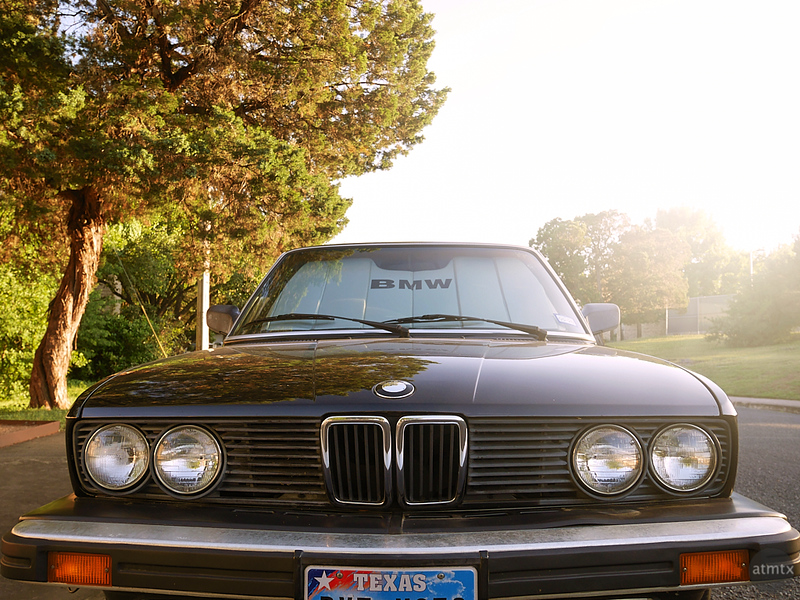 Sunshine and Classic BMW - Austin, Texas