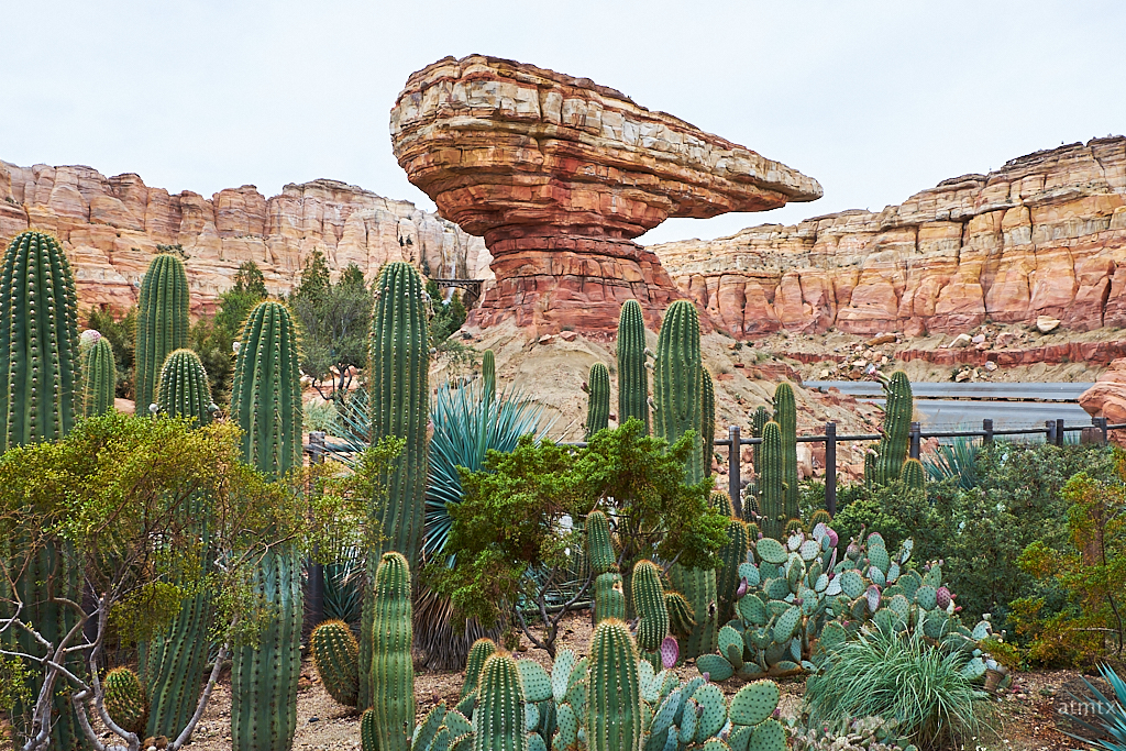 Epic Man-made Landscape, Disney California Adventure - Anaheim, California