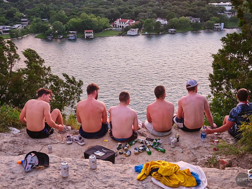 Guys at Mount Bonnell - Austin, Texas