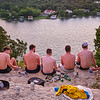 Guys at Mount Bonnell - Austin, Texas