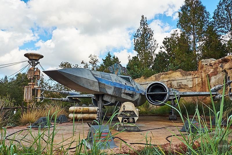 X-wing Starfighter - Anaheim, California
