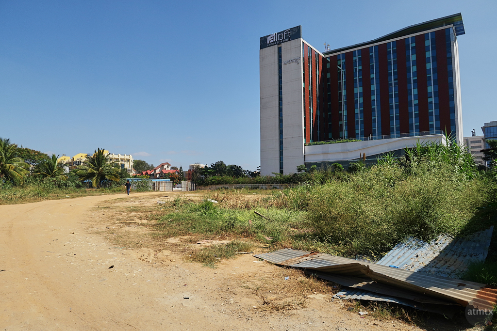 Aloft and the open lot - Bangalore, India