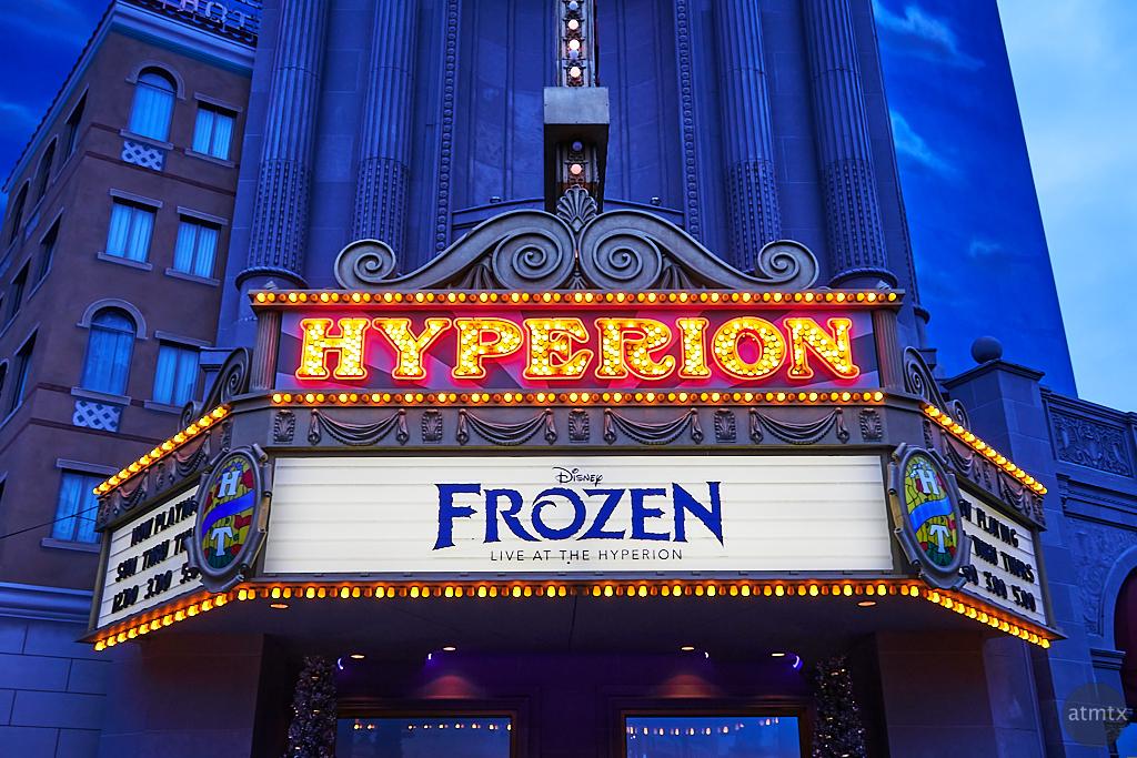 Hyperion Theater, Disney California Adventure - Anaheim, California