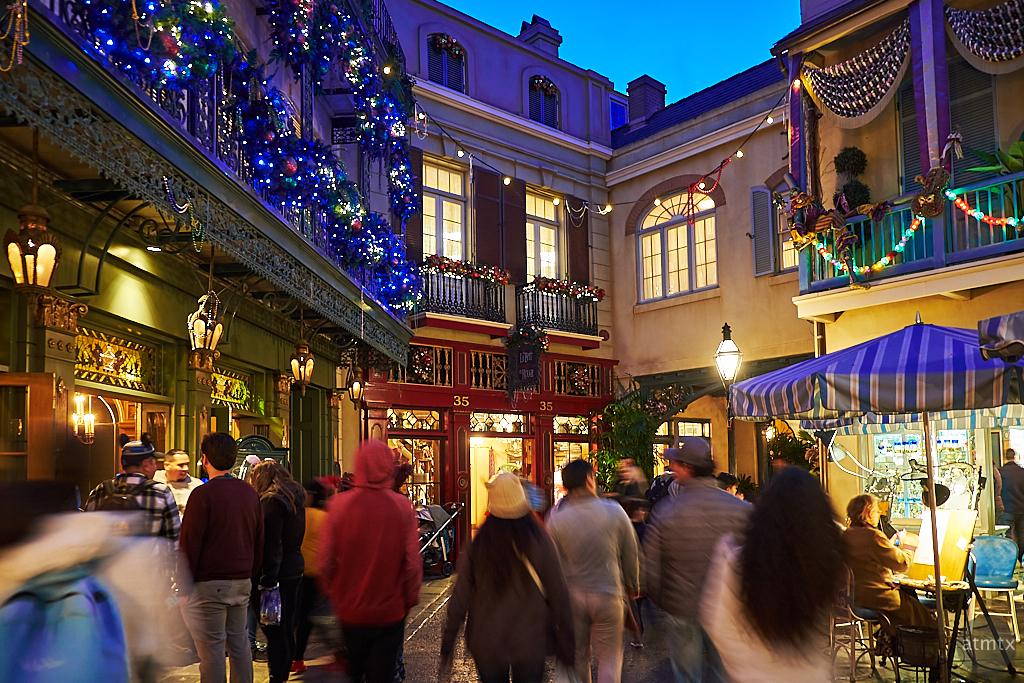 Motion Blur, New Orleans Square - Anaheim, California