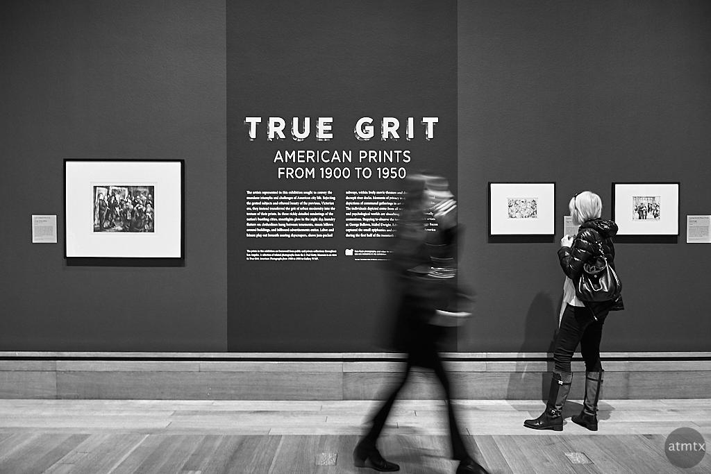 True Grit, Getty Center - Los Angeles, California