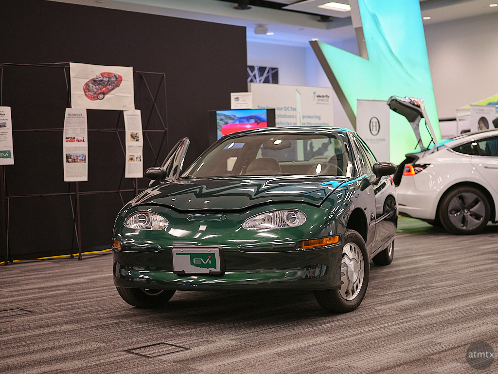 General Motors EV1, Fully Charged Live 2020 - Austin, Texas