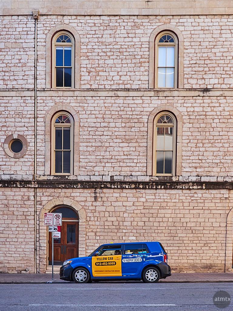 A Blue Yellow Cab - Austin, Texas