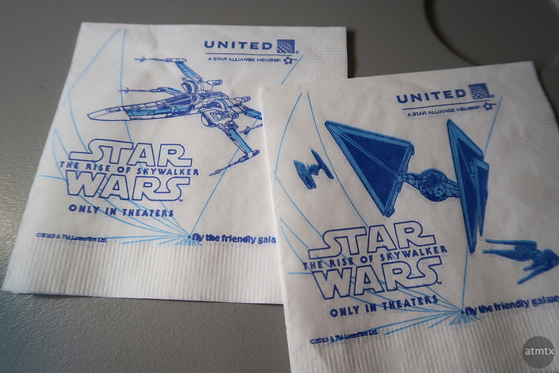 Star Wars Napkins - United Airlines