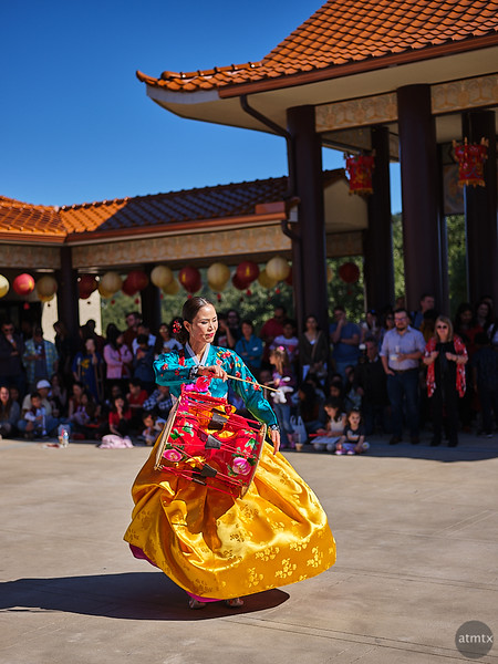 Dancers, Chinese New Year 2020 - Austin, Texas