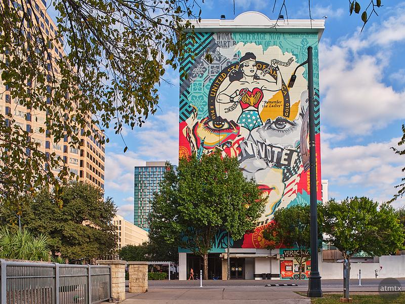 Mural, The LINE - Austin, Texas