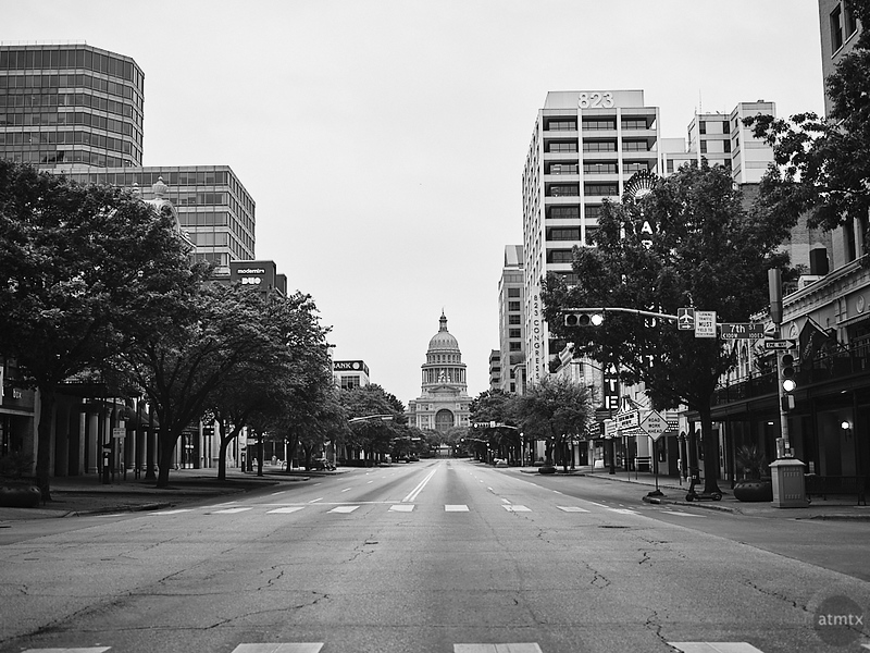 Quiet Congress Avenue - Austin, Texas