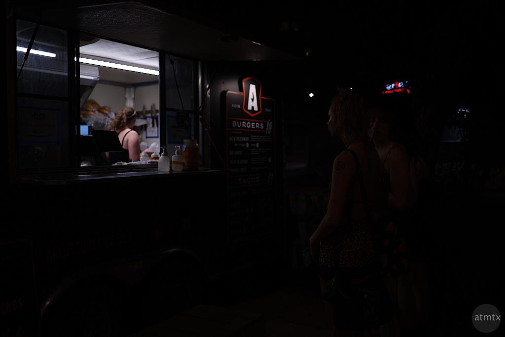Women at the Food Truck - Austin, Texas (Original)