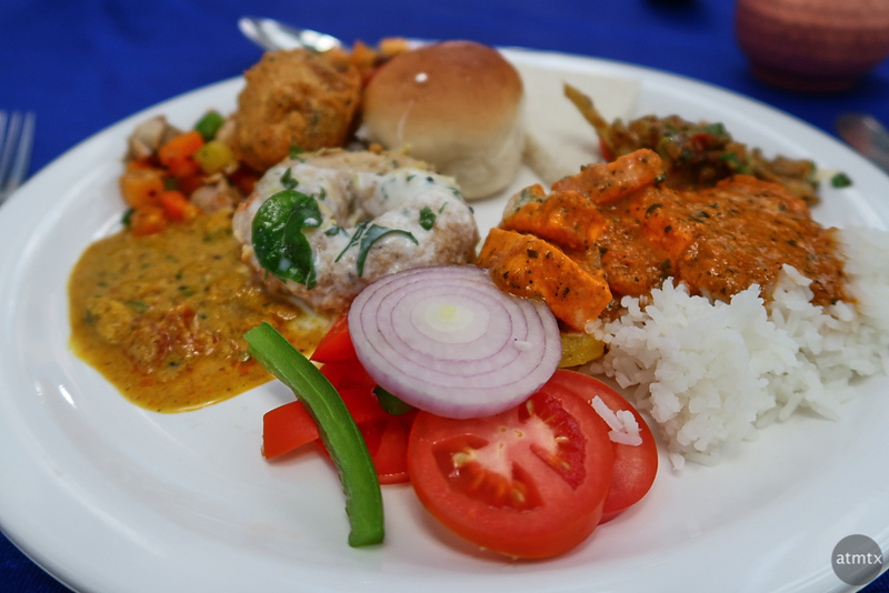 Lunch Buffet, Lalitha Mahal - Mysore, India