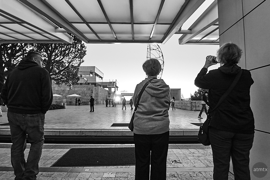Shooting the Sunset Shooter, Getty Center - Los Angeles, California