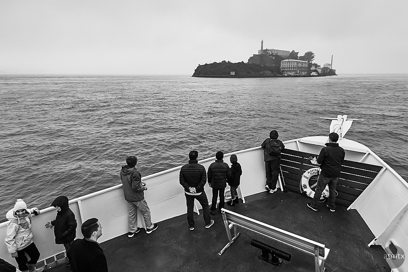 Approaching Alcatraz - San Francisco, California