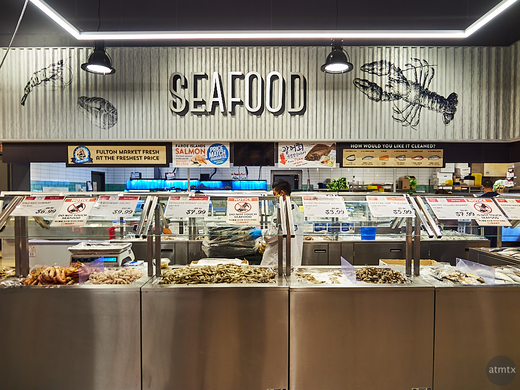 H Mart Seafood - Austin, Texas
