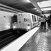 BART Arrives - San Francisco, California