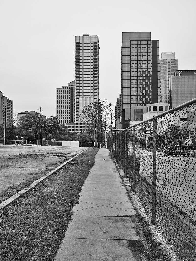 Cesar Chavez Street Leading Lines - Austin, Texas