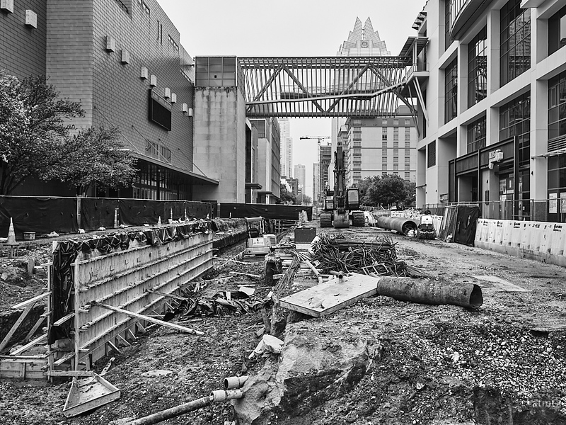 Construction, New Downtown Station - Austin, Texas