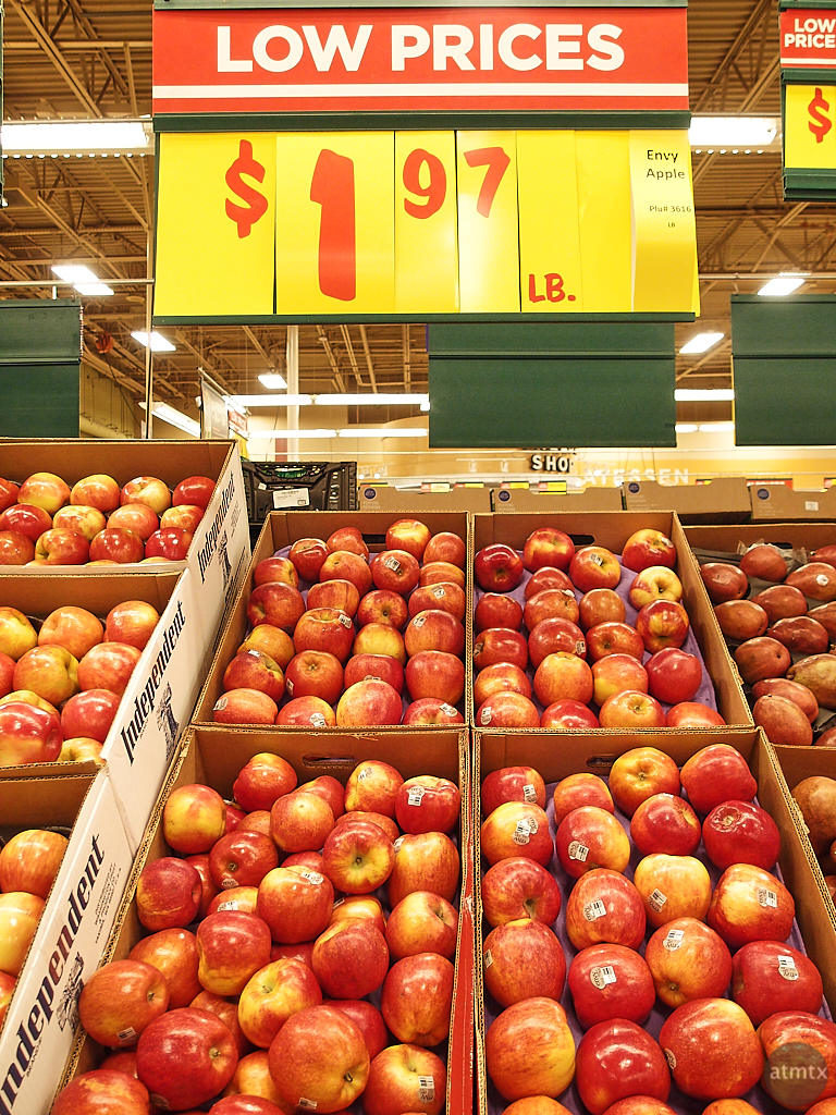 Apples, HEB - Austin, Texas