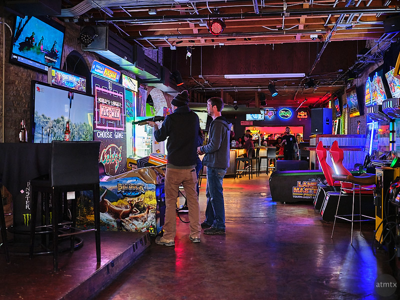 Arcade Color, 6th Street - Austin, Texas