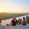 Couples, Mount Bonnell - Austin, Texas