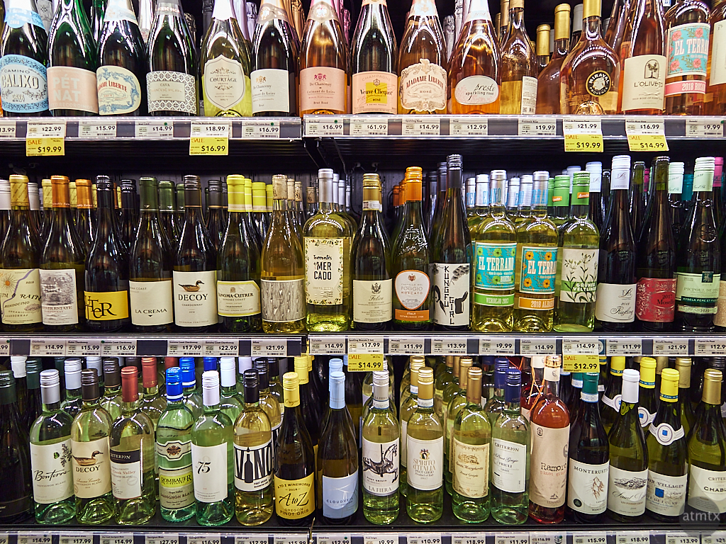 Wine Selection, Whole Foods Market - Austin, Texas