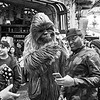 Posing with Chewbacca, Disneyland - Anaheim, California