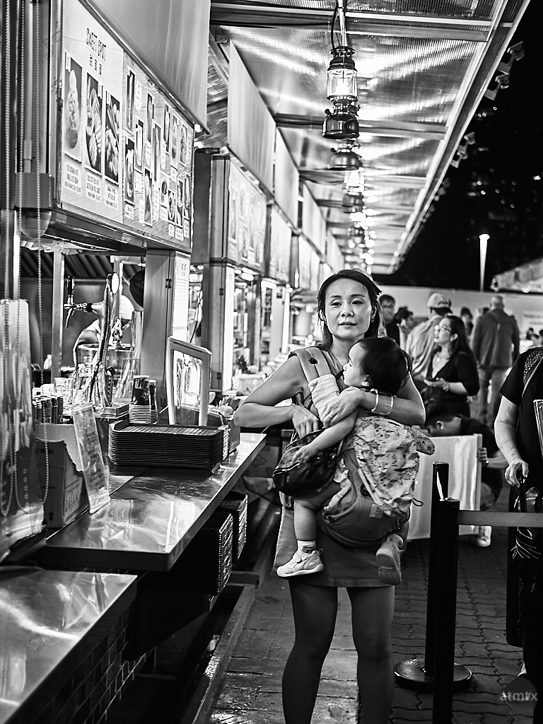 Hawker Center Candids - Singapore