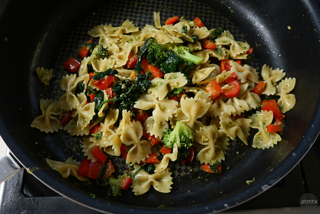 Homemade Pasta with Vegetables - Austin, Texas