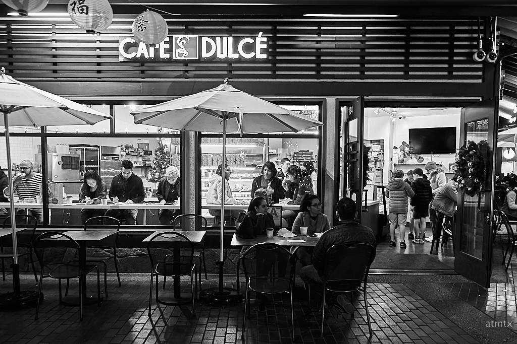 Cafe Life, Little Tokyo - Los Angeles, California