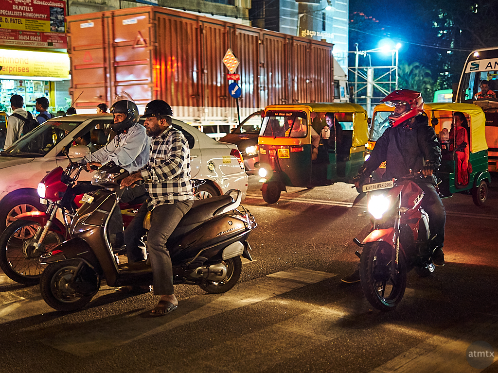 Traffic Glow - Bangalore, India