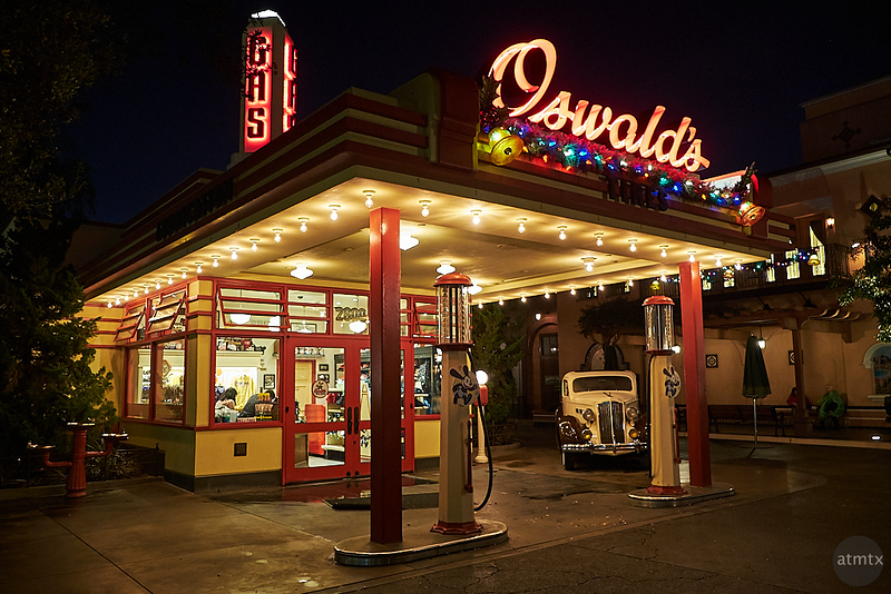 Oswald's, Disney California Adventure - Anaheim, California