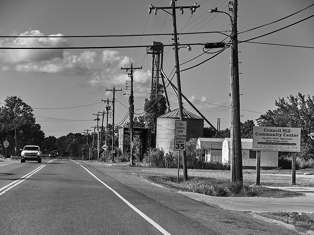Downtown - Council Hill, Oklahoma