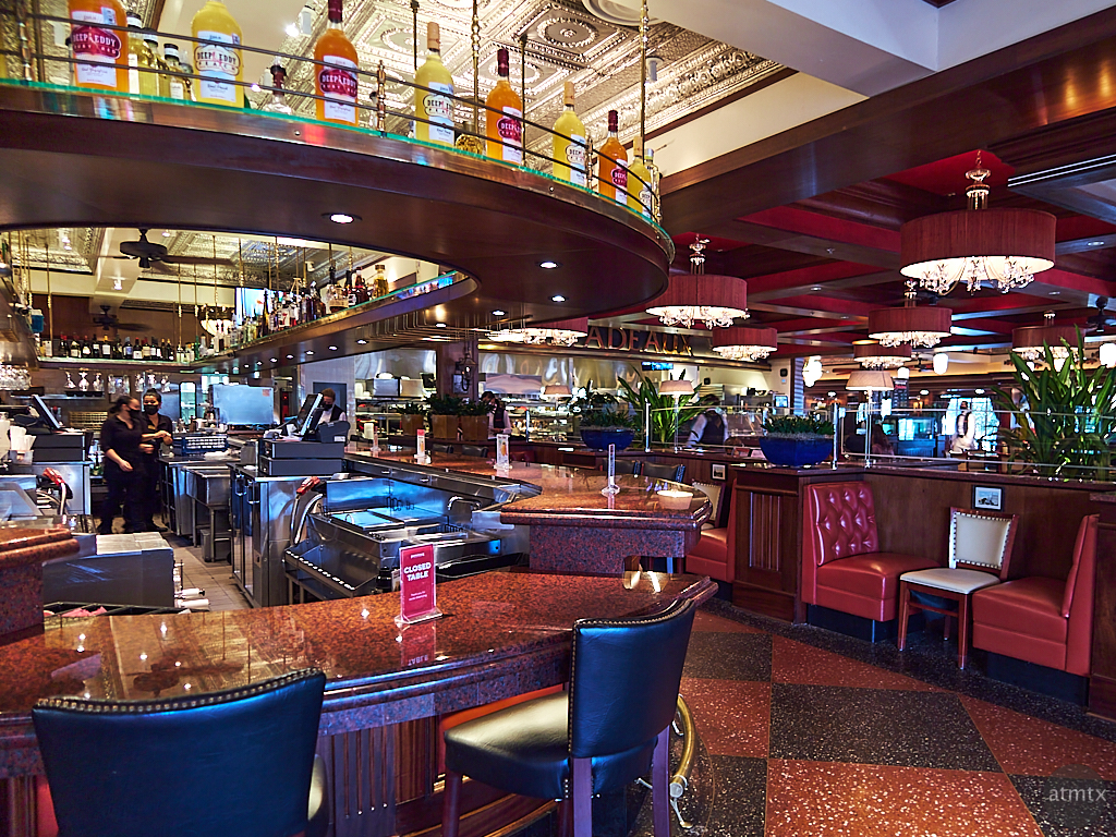 Bar at Pappadeaux - Austin, Texas