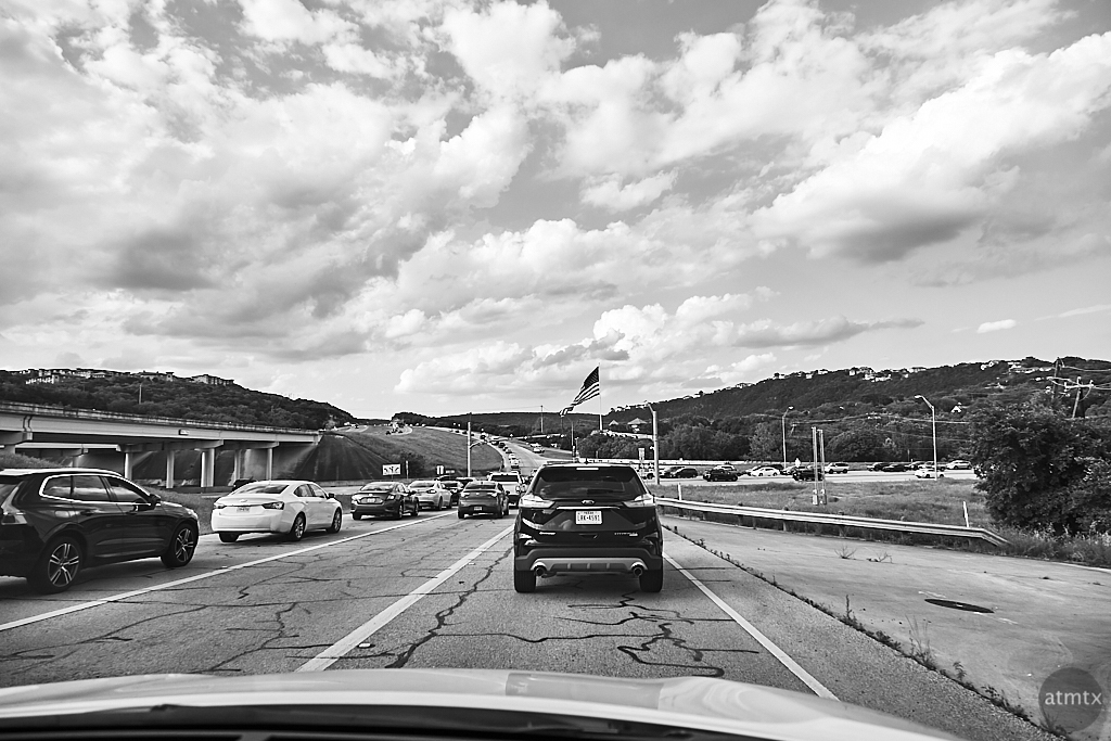 Rush Hour, Loop 360 and FM 2222 - Austin, Texas