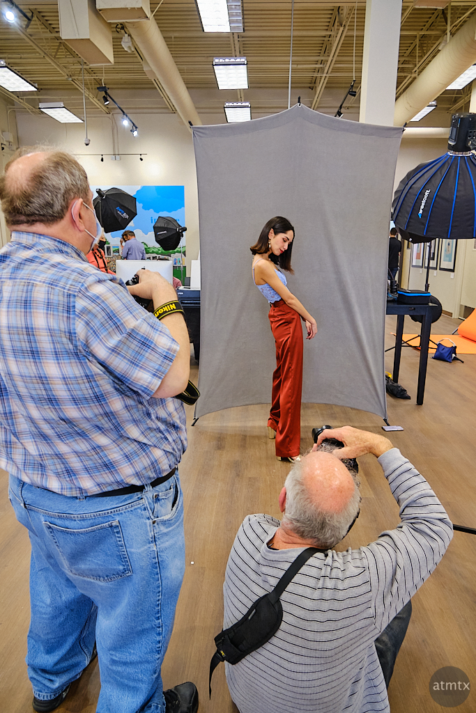 Model Shoot, Precision Camera South - Austin, Texas