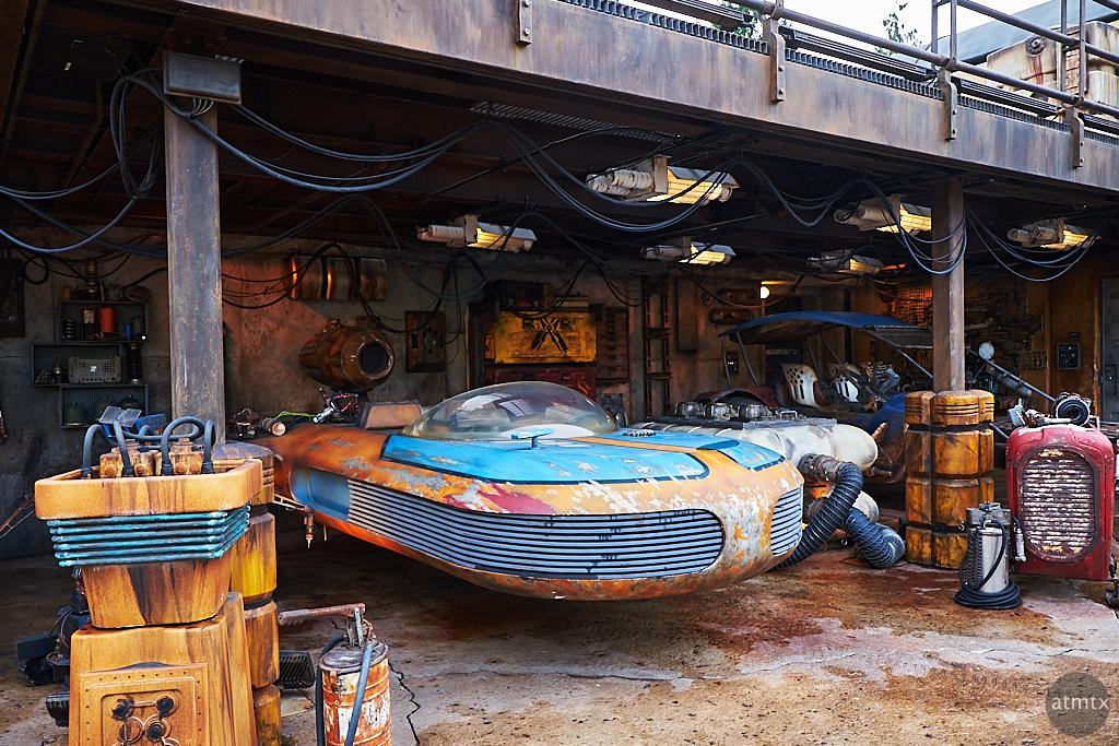 Speeder in Garage - Anaheim, California