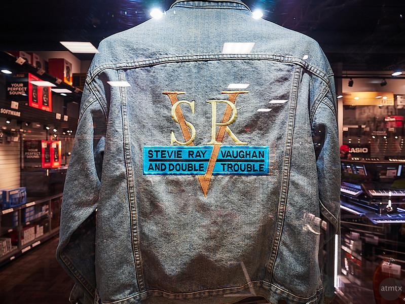 Stevie Ray Vaughan Jacket, Guitar Center - Austin, Texas