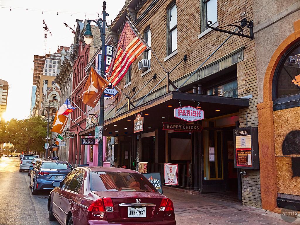 6th Street Sunset - Austin, Texas