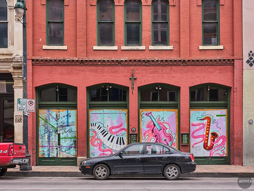 6th Street Pandemic Mural - Austin, Texas