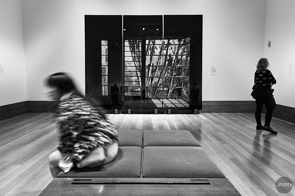 Photographic Illusion, Getty Center - Los Angeles, California